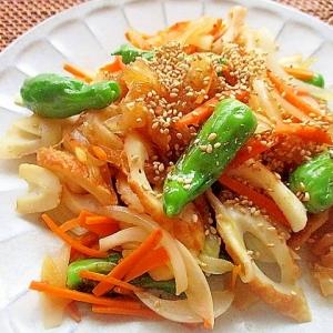 野菜とライスペーパーの焼き肉のたれ炒め