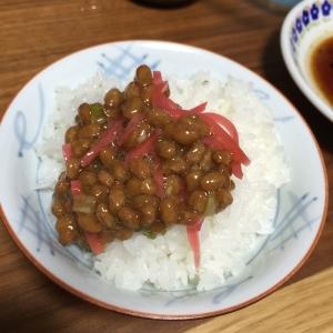 私のお気に入り紅生姜納豆