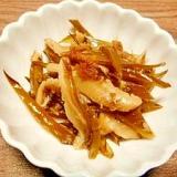 茎ワカメと椎茸☆佃煮