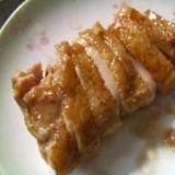 お弁当に 鶏もも肉 簡単照り焼き