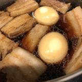 ズボラ☆豚の角煮&煮卵