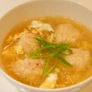 カニすり身のかき玉スープ