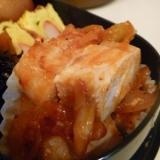 お弁当に◎塩麹豚と玉ねぎのケチャップソテー