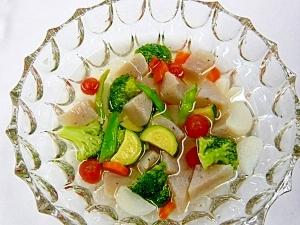 旬の野菜とこんにゃくのピクルス