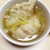 白菜たっぷりスープ餃子