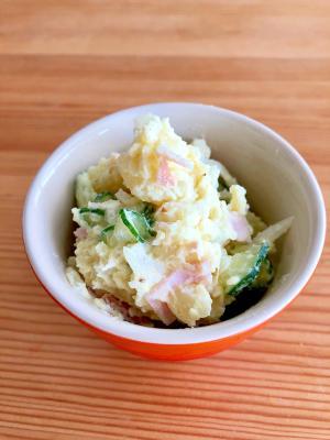 お弁当にも☆からしマヨのポテサラ