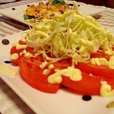 簡単!トマトサラダ