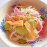 カンタン酢で簡単 ❤ 春雨サラダ