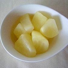 りんごのメイプルシロップ煮