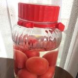 手作りトマト酒