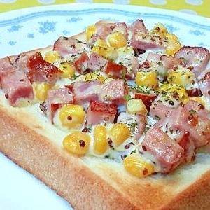 ブロックハム&コーンのトースト