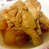 鶏肉と冬瓜の煮物 圧力鍋で