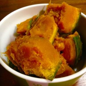 お弁当に★レンジで5分のかぼちゃ煮★