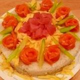 ひな祭りに♥ちらし寿司ケーキ♥