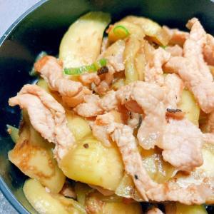 シビ辛★豚肉となすの山椒炒め