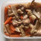 鶏肉エリンギ薄揚げ人参の煮物