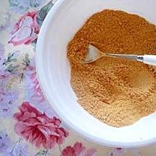 きび砂糖で濃厚きな粉