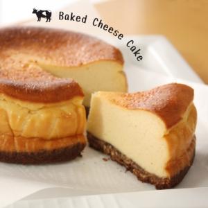 甘いチーズとほろ苦ココア☆ベイクドチーズケーキ