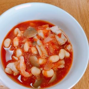 野菜たっぷりの豚肉のトマト煮