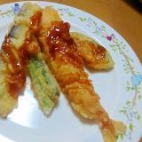 野菜の天ぷらの盛り合わせ