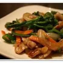 豚肉とお野菜のあっさりポン酢炒め