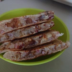 レーズン胡桃パンケーキ