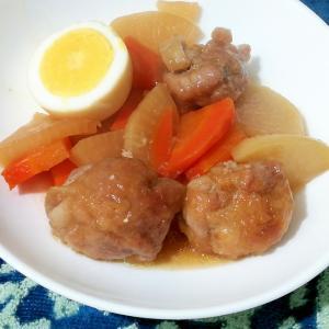 こま切れ肉で簡単!豚の角煮風甘辛煮