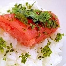 海苔めんたいご飯