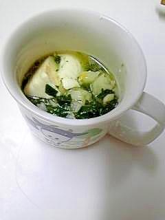 離乳食 レンジで簡単♪豆腐の芋とホウレン草の餡かけ