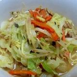 野菜たっぷりの味噌ちゃんぽん