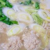 ☆鶏だんご鍋☆