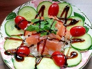 サラダちらし寿司
