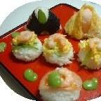 お寿司のお雛様(ひな祭りレシピその1)