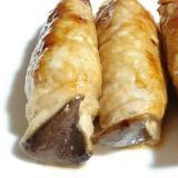 ストウブDe〜エリンギの肉巻き黒酢たれ