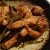 モロッコインゲンと豚肉の塩麹味噌炒め