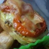 鶏ハムのトマトマスタード焼き