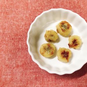 【離乳食後期】オリーブオイルで焼きバナナ