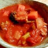 鶏肉と野菜のトマト煮込み