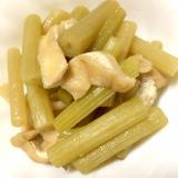 山菜の風味香る♪ふきの煮物と下処理