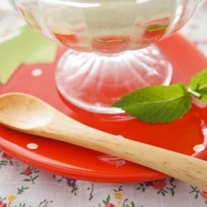 ミキサーで簡単☆抹茶豆乳アイス