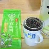 ほっこり 米焼酎の緑茶割り