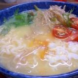 野菜たっぷり塩ラーメン★