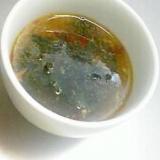 忙しい朝に元気出せ!!にんにくスープだぁ~~♪