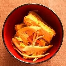 美肌効果に期待!?☆高野豆腐の卵とじ☆