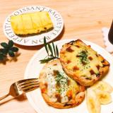 レトルトカレーの食べ方♡カレーチーズトースト