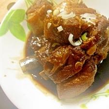 豚骨付け肉の酢豚煮