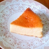 豆腐とヨーグルトのチーズケーキ