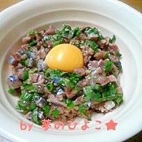 今が旬!北海道根室産★生さんまのユッケ丼