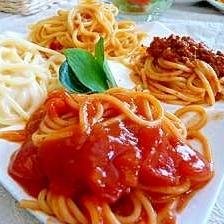 イタリア色★4種の贅沢パスタ