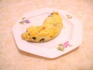 紫蘇&梅風味♪ふんわりオムレツ